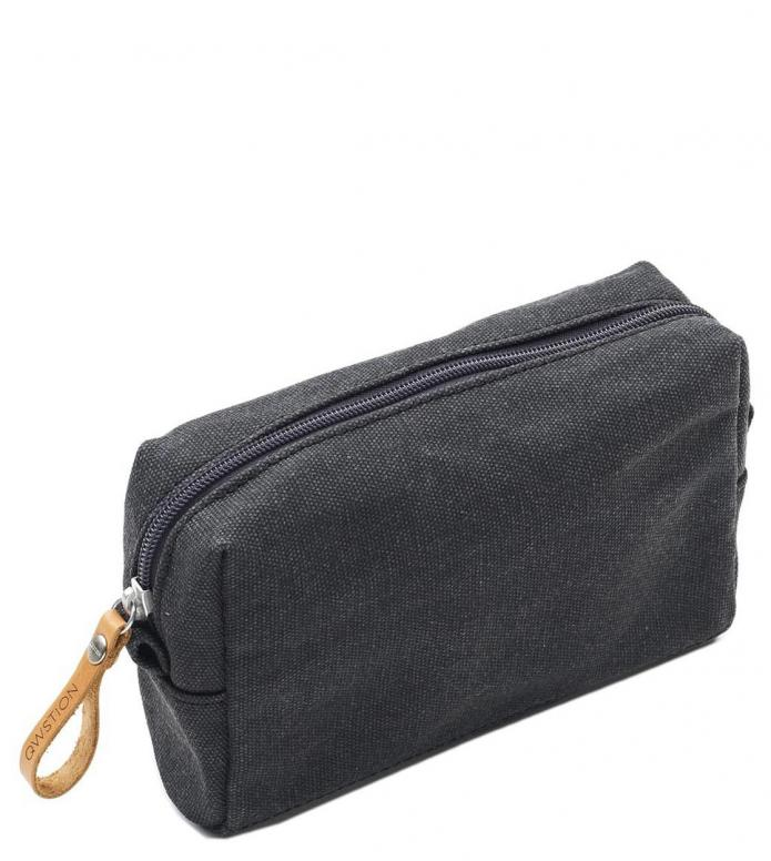 Qwstion Amenity Pouch washed black 1.2L