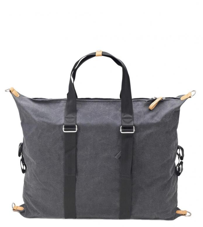 Qwstion Bag Simple Holdall washed black 32L