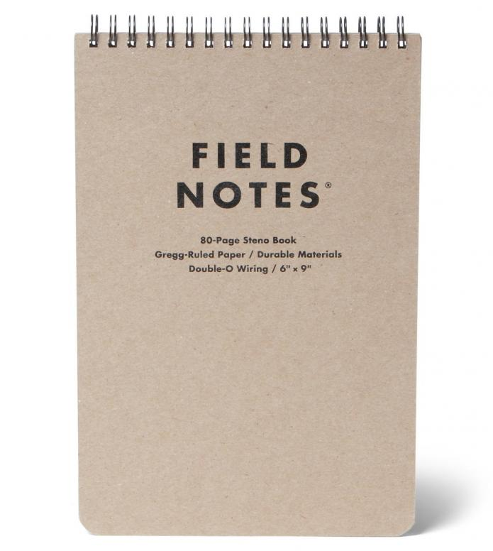 Field Notes Field Notes Ruled Steno Book brown original kraft