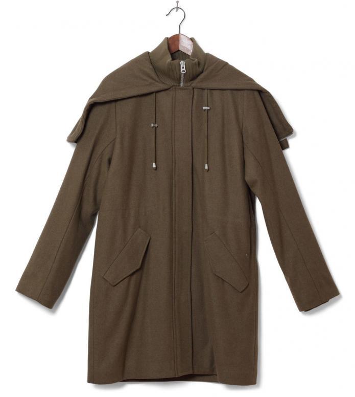 MbyM W Winterjacket Lion green M