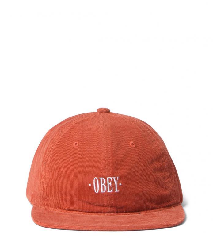 Obey Obey 6 Panel Hazel orange rust