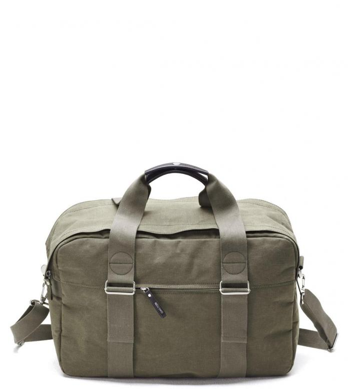 Qwstion Bag Weekender organic olive 30L