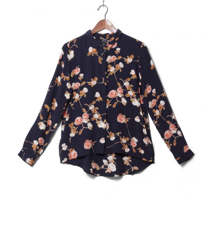 MbyM W Shirt Klara blue sadria print M