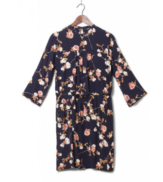 MbyM W Dress Chainy blue sadria print L