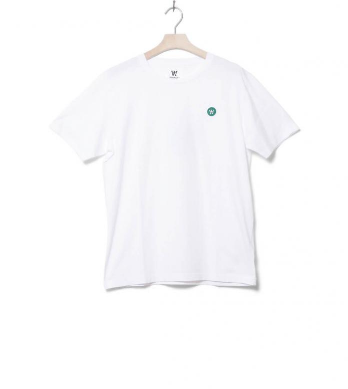 Wood Wood T-Shirt Ace white bright S
