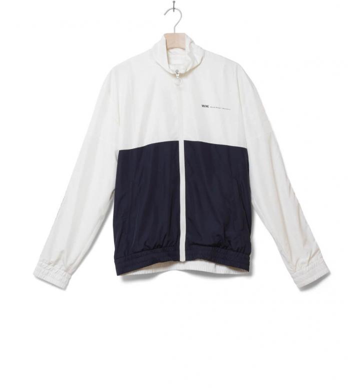 Wood Wood Jacket Homer blue off-white/navy M