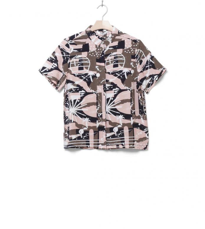 Wemoto W Shirt Jack Printed pink ways XS