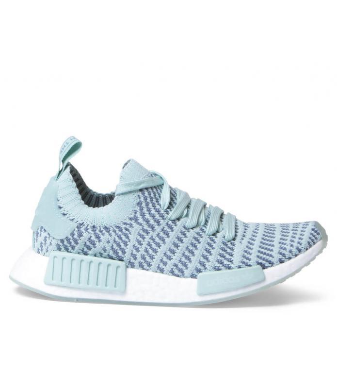 adidas Originals Adidas W Shoes NMD R1 STLT PK green ash/raw indigo/footwear white