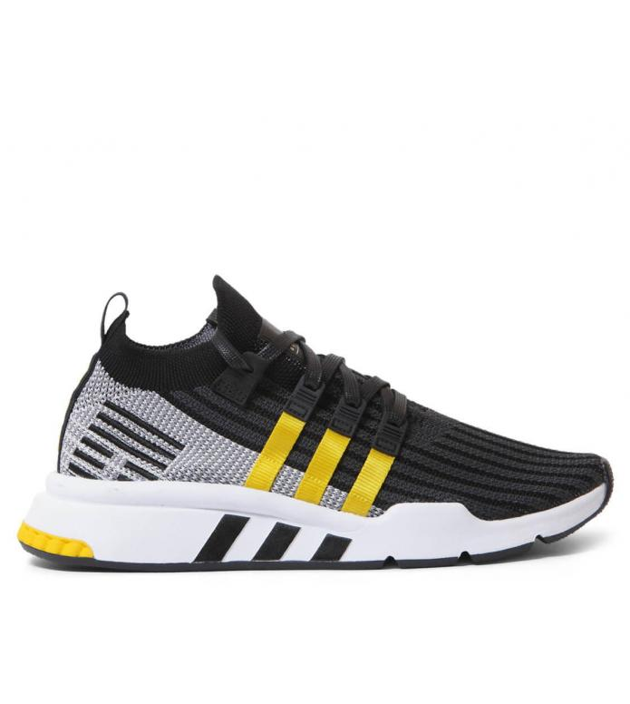 adidas Originals Adidas Shoes EQT Support Mid ADV PK grey core black/eqt yellow/footwear white