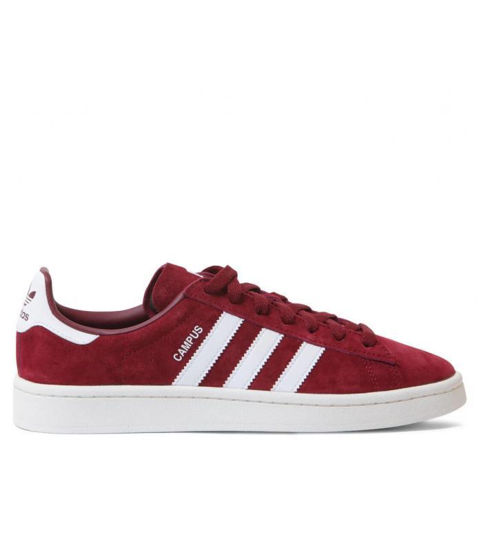 adidas Originals Adidas Shoes Campus red collegiate burgundy/footwear white/chalk white