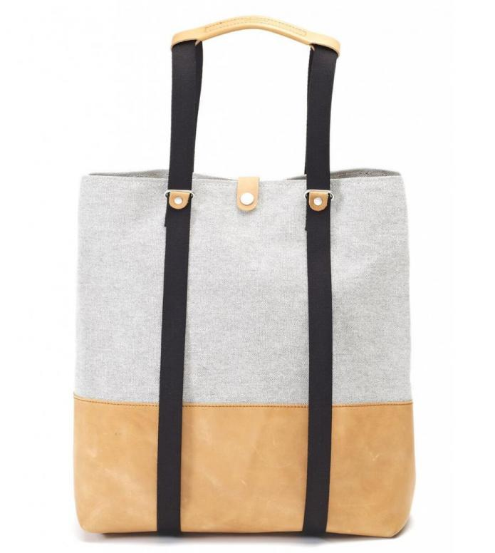 Qwstion Bag Shopper raw blend natural leather 15L