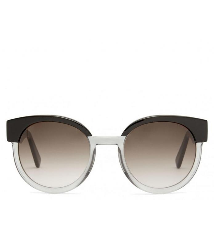 Viu Viu x House of Dagmar Sunglasses Greta black ice shiny