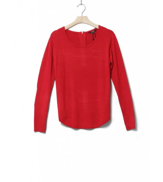 MbyM W Pullover Luca red high risk XS