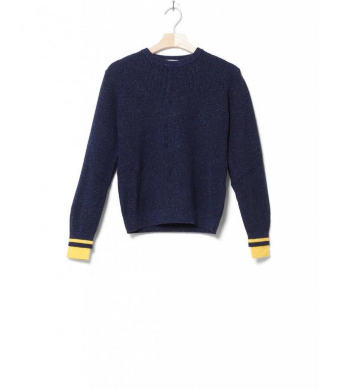 Wood Wood W Knit Pullover Regina blue navy S