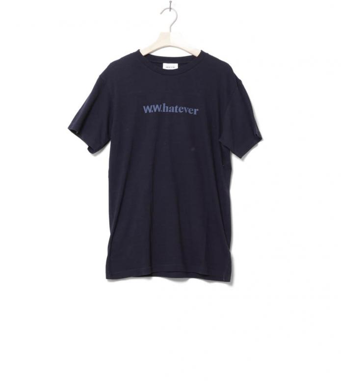 Wood Wood Wood Wood T-Shirt Perry blue navy