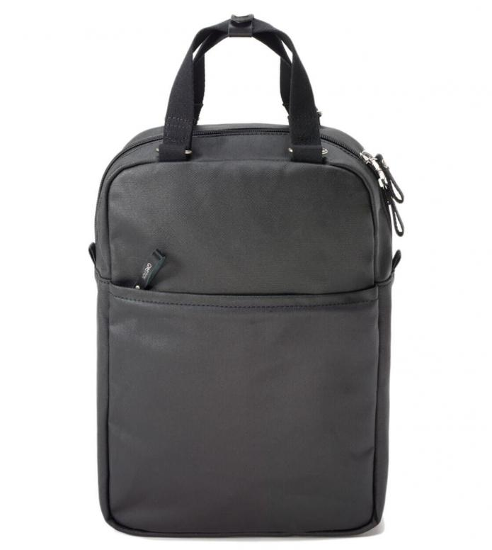Qwstion Backpack Small Pack organic jet black 11L