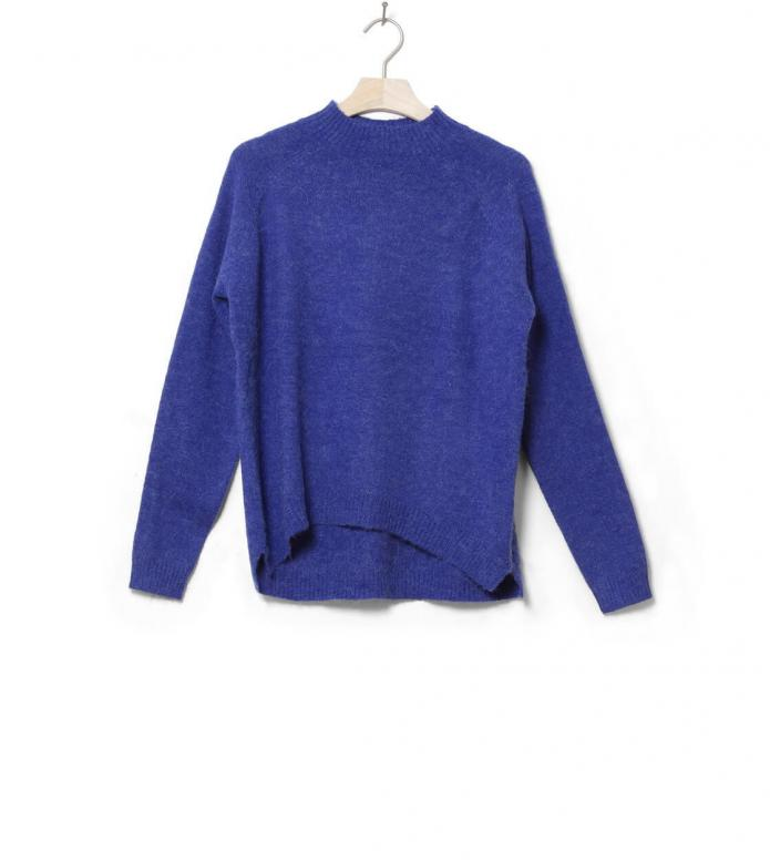 MbyM W Knit Pullover Ilse blue reflex melange XS/S