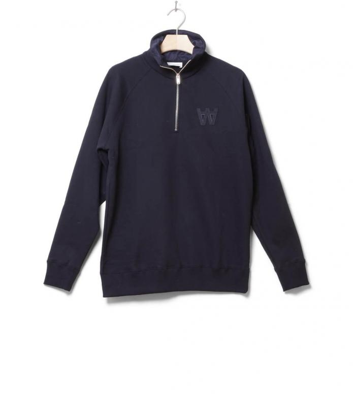 Wood Wood Pullover Curtis blue navy M