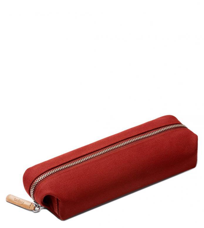 Bellroy Bellroy Pencil Case Plus red ochre
