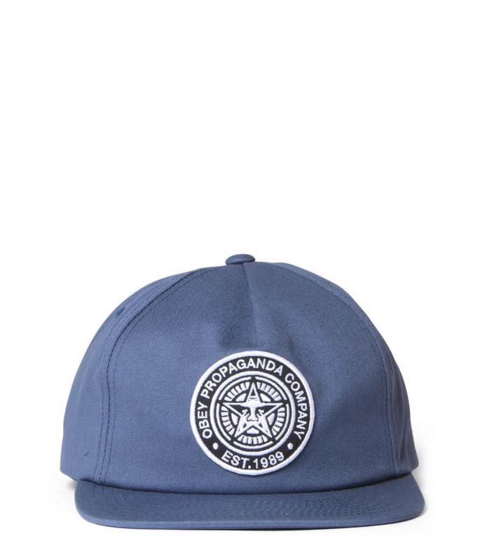 Obey Obey Snap Cap Established 89 blue navy