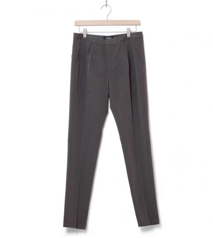 MbyM W Pants Gita Long grey charcoal melange XS