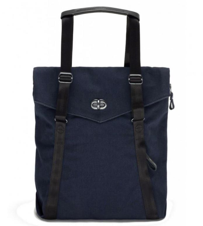 Qwstion Bag Tote organic midnight blue 13L