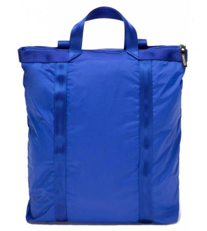 Qwstion Qwstion x Sibylle Stöckli Bag Travel Shopper blue sky