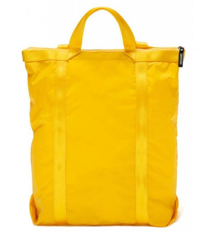 Qwstion Qwstion x Sibylle Stöckli Bag Travel Shopper yellow sun