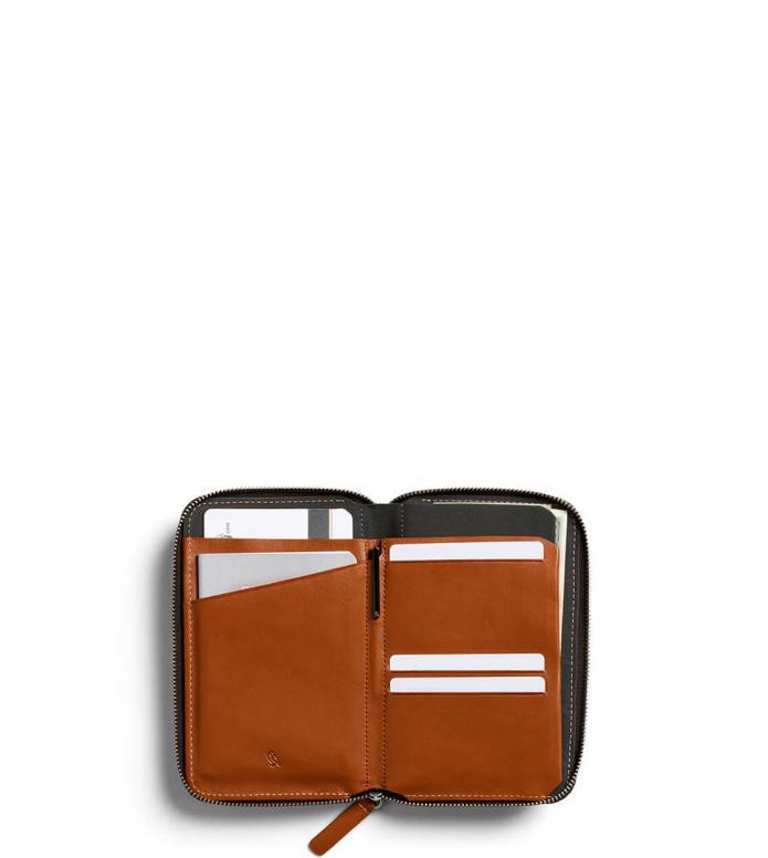 Bellroy Bellroy Travel Folio RFID brown caramel