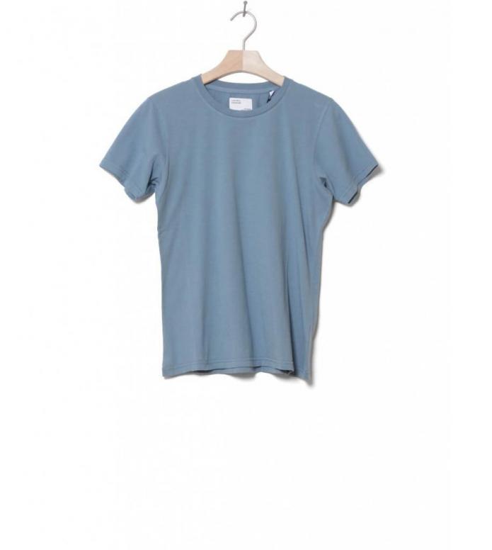Colorful Standard Colorful Standard W T-Shirt CS 2051 blue stone