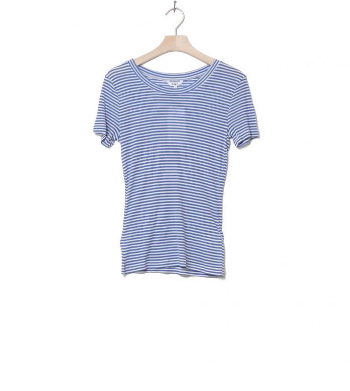 MbyM W T-Shirt Samira blue cobalt sugar stripe S