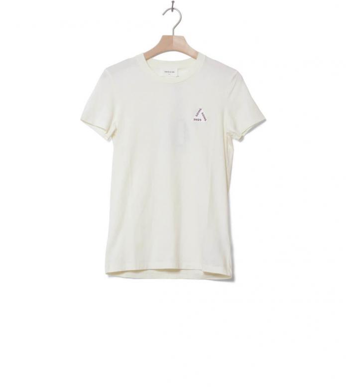 Wood Wood Wood Wood W T-Shirt Eden white off