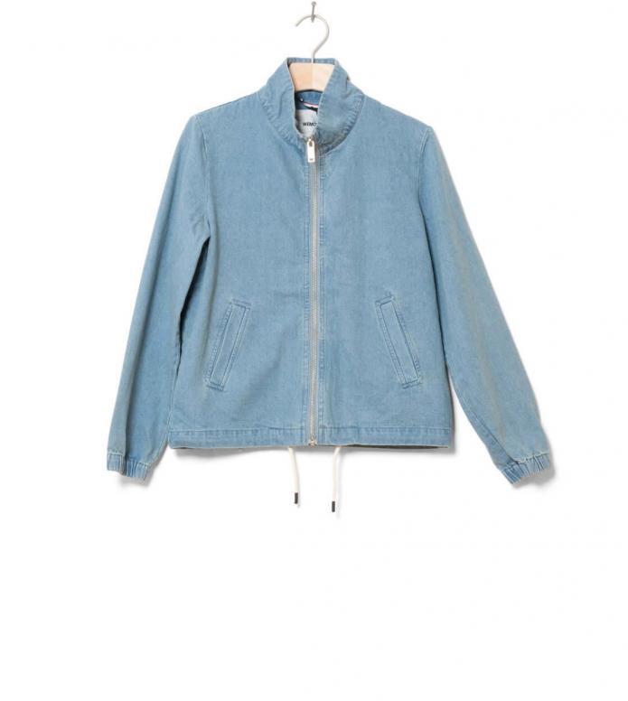 Wemoto W Jacket Amber blue denim XS