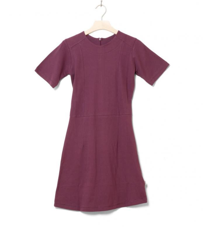 Wemoto W Dress Erica red burgundy XS