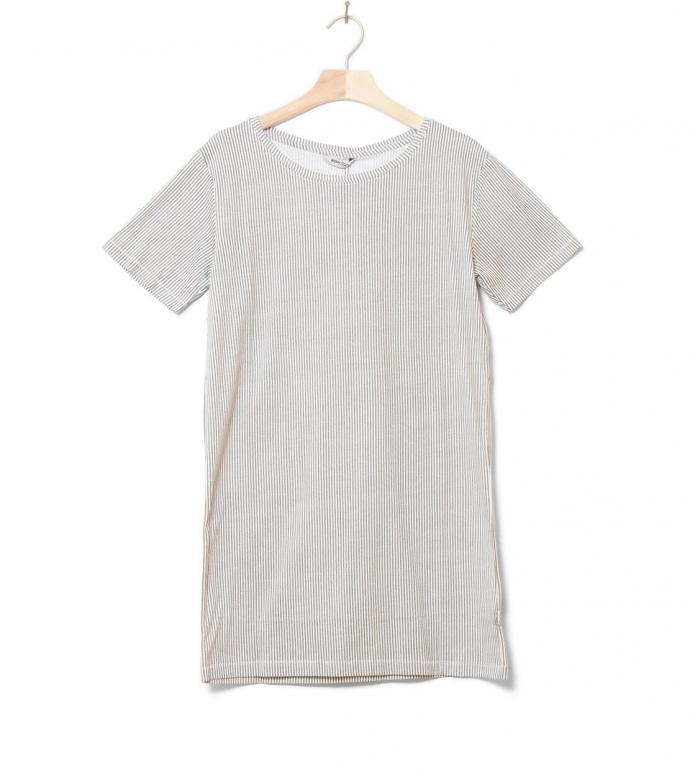 Wemoto W Dress Nika Printed white off-grey S