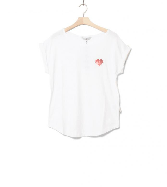 Wemoto W T-shirt Heart white XS