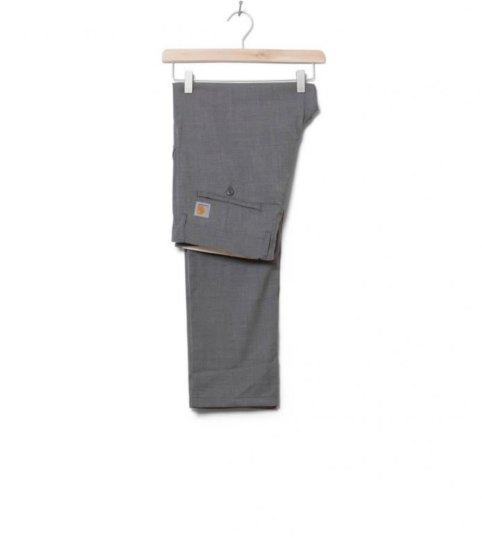 Carhartt WIP Pants Johnson Diamond grey light heather rigid 32/32