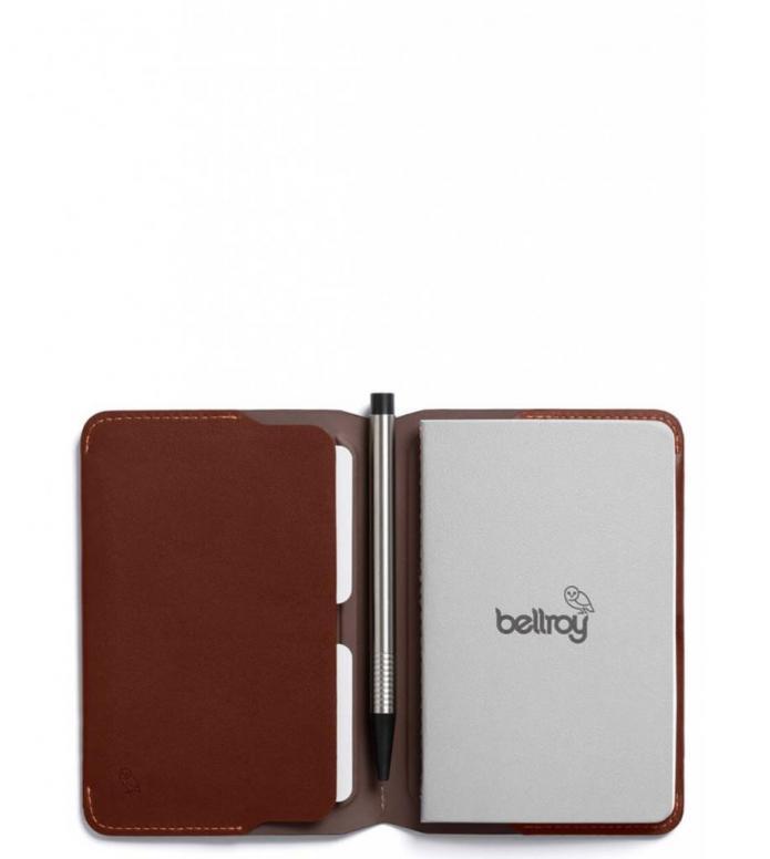 Bellroy Bellroy Notebook Cover Mini brown cocoa