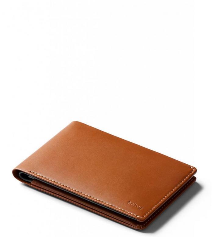 Bellroy Bellroy Wallet Travel RFID brown caramel