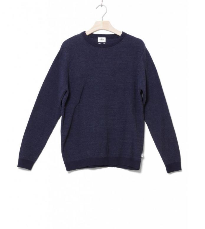 Klitmoller Knit Pullover Mik blue navy/heaven S