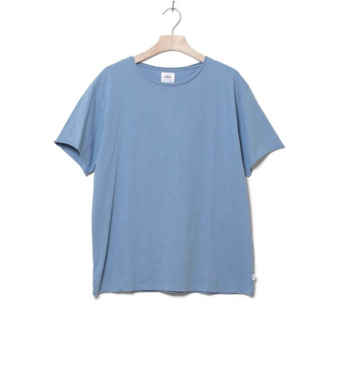 Klitmoller T-Shirt Sigurd blue heaven flame S