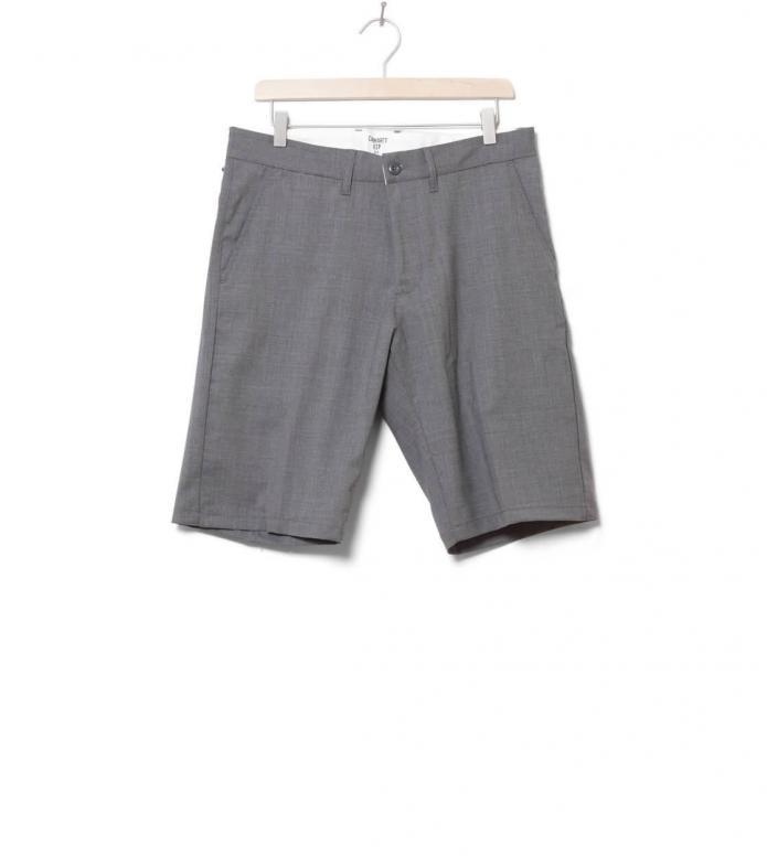 Carhartt Shorts Johnson Diamond grey light heather rigid 30