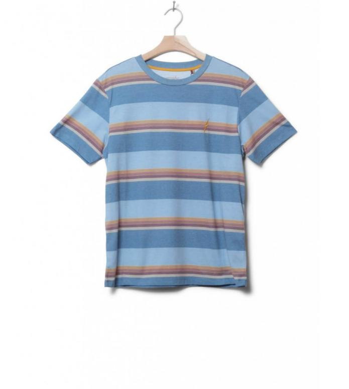 Lightning Bolt T-Shirt Stripe Jam blue unique S