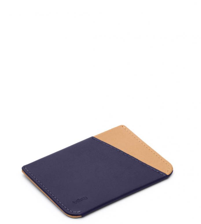 Bellroy Bellroy Wallet Micro Sleeve blue navy tan