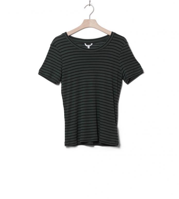 MbyM W T-Shirt Samira green black climbing stripe M
