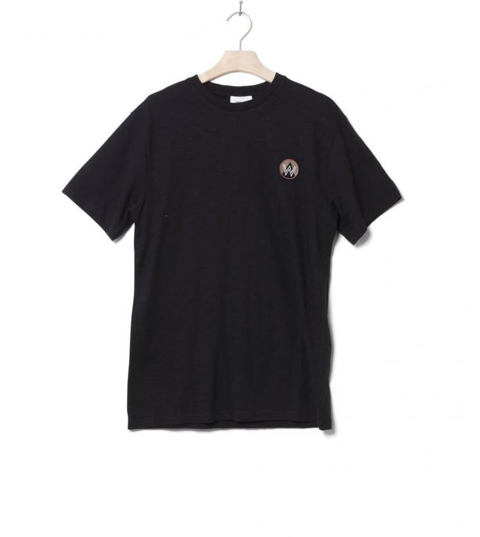 Wood Wood Wood Wood T-Shirt Slater black