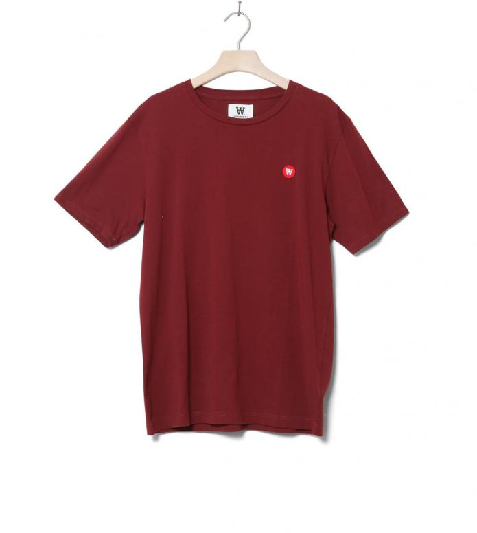 Wood Wood Wood Wood T-Shirt Ace red dark