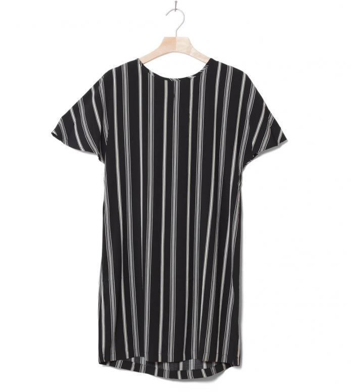 Wemoto W Dress Byron Printed black off-white XS