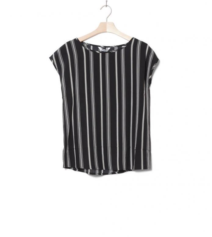 Wemoto W T-Shirt Melvin Printed black-off white XS