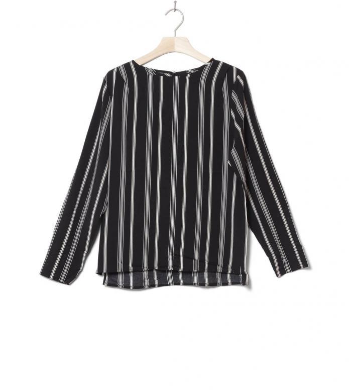Wemoto W Shirt Roesberry black-off white XS